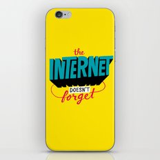 The Internet Doesn't Forget iPhone & iPod Skin