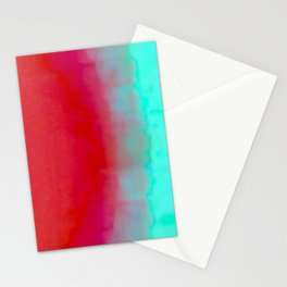 The Unsetting Sun Stationery Cards