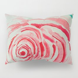 Where the Pink Roses Grow, Summer is Ending and Romantic Fall Nights are Here Pillow Sham