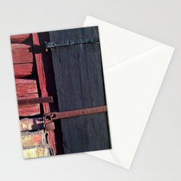 Old Barn door Stationery Cards
