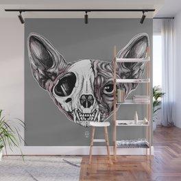 Shynx Half Skull Wall Mural