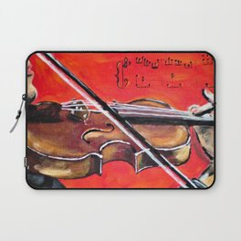 Homage to the Violin Laptop Sleeve
