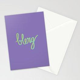 Blerg Stationery Cards