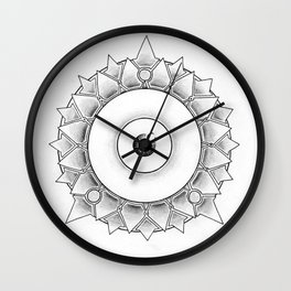 The Scaly Watcher Wall Clock