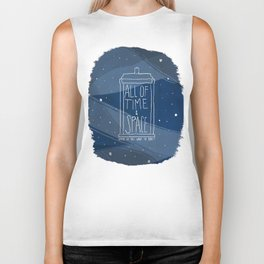 All Of Time And Space Biker Tank