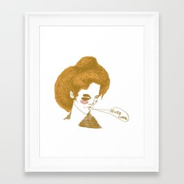 Alice Lane Framed Art Print