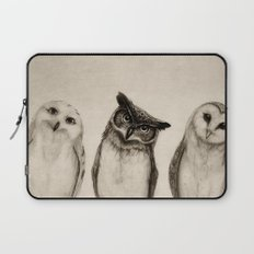 The Owl's 3 Laptop Sleeve