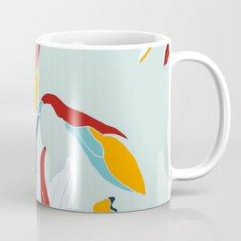 Mid Century spring flowers Coffee Mug