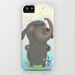 An elephant. iPhone Case