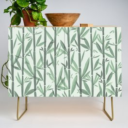 Bamboo Forest Watercolor Credenza