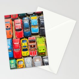 Retro Toy Cars Stationery Cards