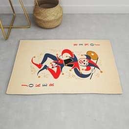 Joker Playing Card Rug