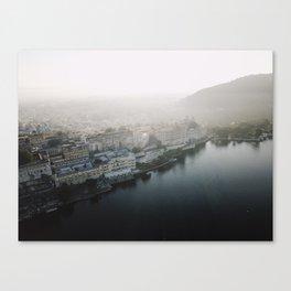 Udaipur Blue Canvas Print