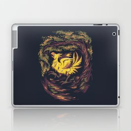 Chocobo with Blossoms Laptop & iPad Skin