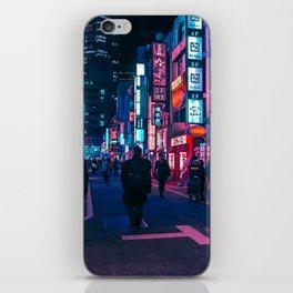 Take A Walk Under The Neon iPhone Skin