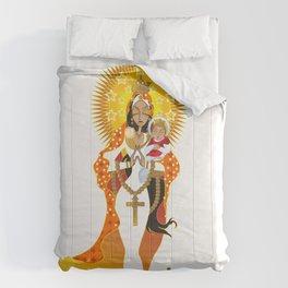 La Virgen de la Caridad del Cobre Comforters