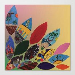 Petals y Petalos Canvas Print