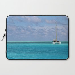 Anchorage at Bora Bora Laptop Sleeve