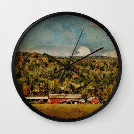 Artistic Farming Wall Clock