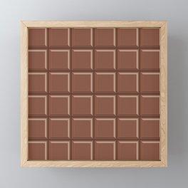 Chocolate Candy Bar Framed Mini Art Print