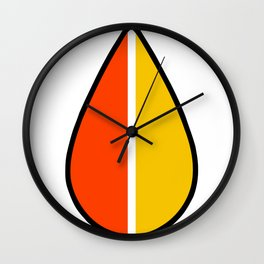 Retro Koreisha Ochiba Wall Clock