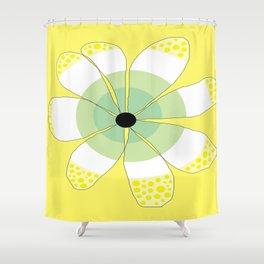 FLOWERY VIGGA  / ORIGINAL DANISH DESIGN bykazandholly Shower Curtain