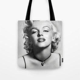 Marylin Monroe Print Poster02 Tote Bag