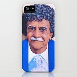 Kurt Vonnegut iPhone Case