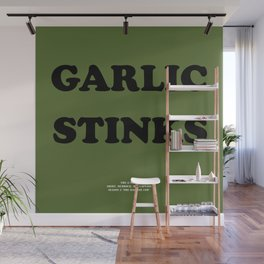 Howlin' Mad Murdock's 'Garlic Stinks' shirt Wall Mural