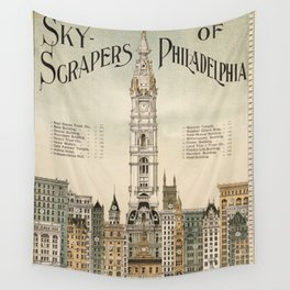 Vintage poster - Philadelphia Wall Tapestry