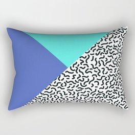 Memphis pattern 29 Rectangular Pillow