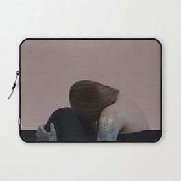 Tattoo girl forest Laptop Sleeve
