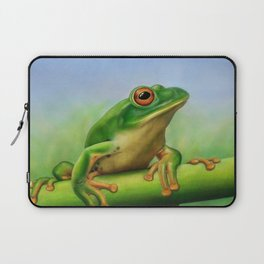 Moltrecht's Green Treefrog Laptop Sleeve