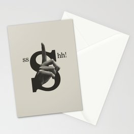 Sshh! Stationery Cards