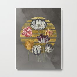 Dramatic Tulips Metal Print