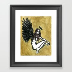 The Initial Appearance of Nephilim Framed Art Print