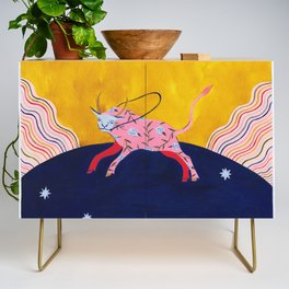 The Homesick Taurus Looking for A Home Credenza