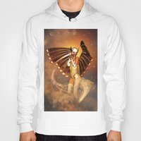 angel Hoodies featuring Angel by nicky2342