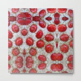 pane pomodori origano = pizza Metal Print