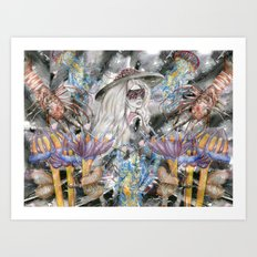 Poseidon's Inter-Dimension Art Print