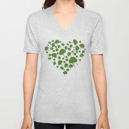I Love Broccoli Unisex V-Neck