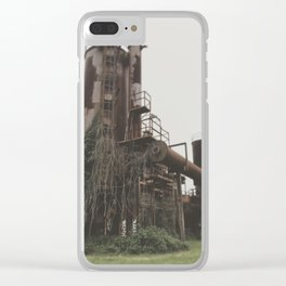 Draped Clear iPhone Case