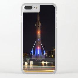 Fremont Rocket Clear iPhone Case