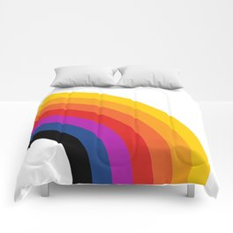 Retro Rainbow - Right Comforters