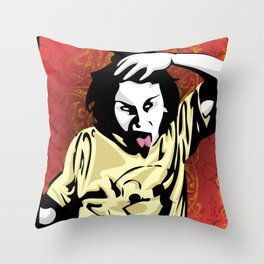 Insanity Throw Pillow