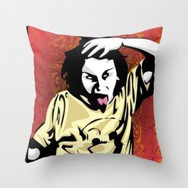Insanity Throw Pillow