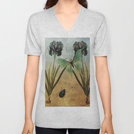 The Butterfly and The Beetle Unisex V-Neck