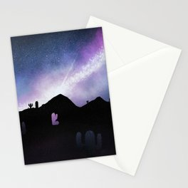 Cacti in the Sky Stationery Cards