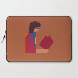 Ms Lady Reads Laptop Sleeve
