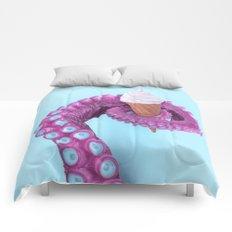 OCTOPUS ICE CREAM Comforters